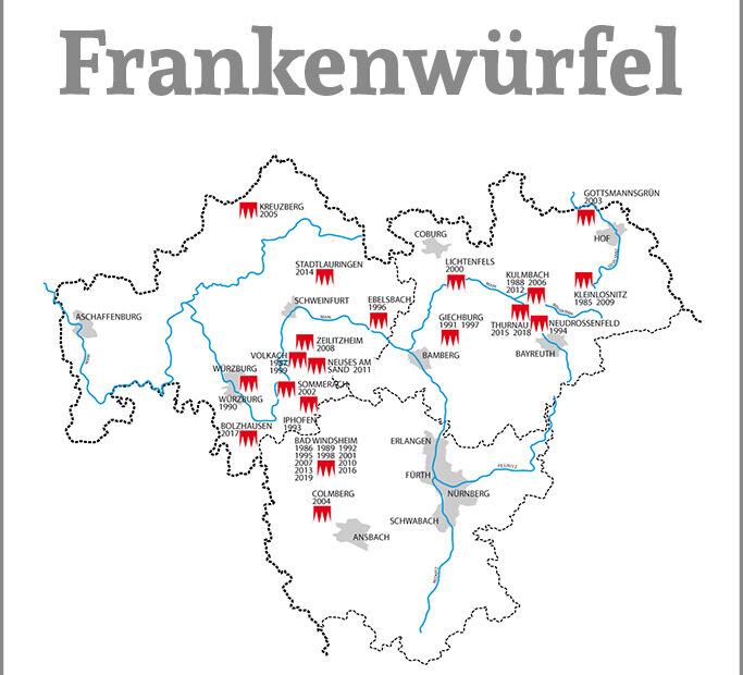 Karte der Veranstaltungsorte