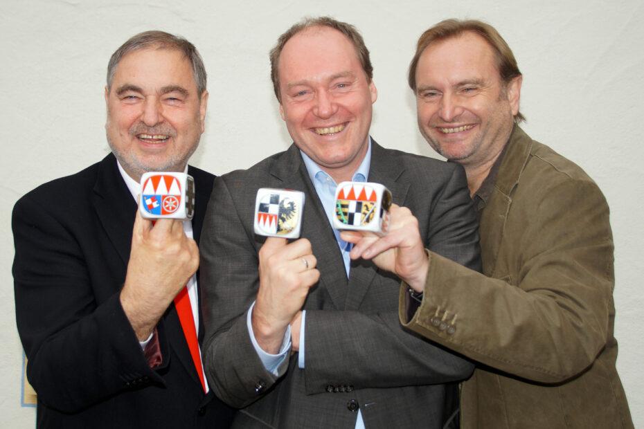 Verleihung des Frankenwürfels 2014 in Stadtlauringen