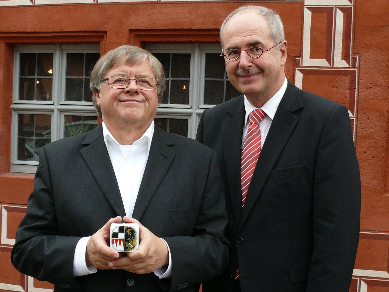 Verleihung des Frankenwürfels 2013 in Bad Windsheim