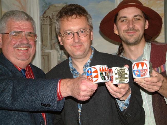 Verleihung des Frankenwürfels 2008 in Zeilitzheim
